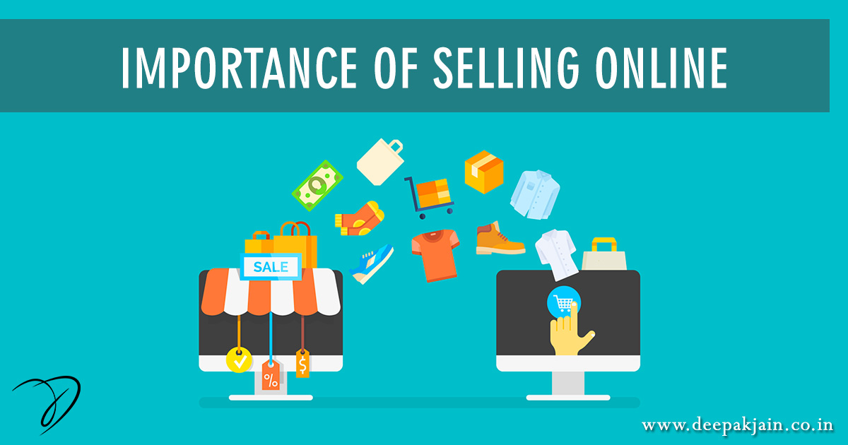 Importance of Selling Online