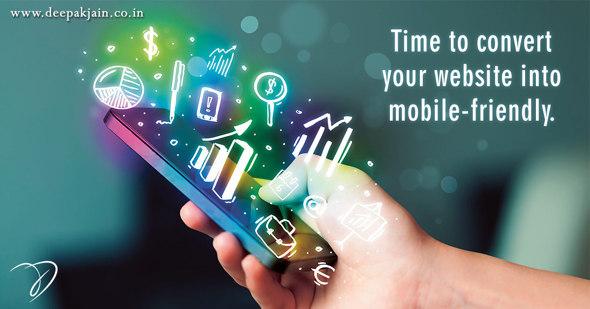 Time to convert your website into mobile-friendly