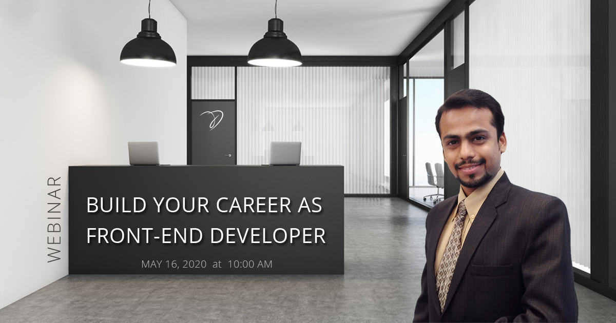 Webinar on Career as a Frontend Developer